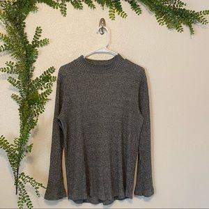 Gray Sweater-Like Shirt